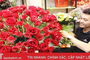Thị trường hoa, quà tặng Valentine: Hàng đa dạng, khách đìu hiu!