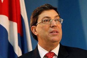 Ngoại trưởng Cuba kêu gọi tránh sử dụng vũ lực chống Venezuela