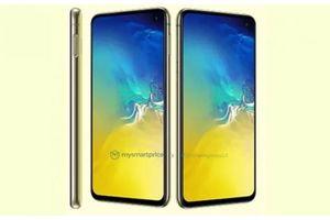Galaxy S10e có màu vàng siêu rực rỡ, đối đầu iPhone XR
