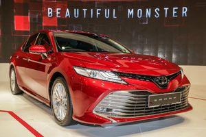2019 Toyota Camry đạt tiêu chuẩn an toàn 5 sao, hút thị trường Đông Nam Á