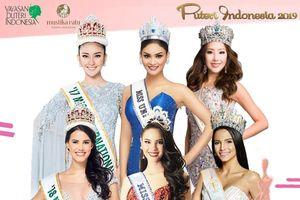 Nhan sắc nhạt nhòa của dàn ứng viên Hoa hậu Hoàn vũ Indonesia 2019