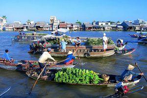 Lượng khách du lịch đến Cần Thơ tăng cao dịp Tết Nguyên Đán 2019