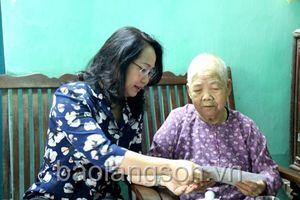 Lạng Sơn: Thực hiện tốt công tác chăm lo Tết cho NCC, gia đình chính sách, hộ nghèo