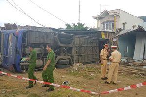 Nguyên nhân xe giường nằm tông sập nhà, lật ở Nha Trang