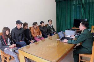 Tạm giữ 6 đối tượng định vượt biên sang Trung Quốc trái phép