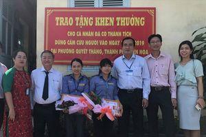 Tỉnh Đồng Nai tặng bằng khen cho hai nữ nhân viên đường sắt cứu người