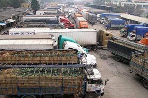 Hơn 5.000 tấn nông sản được xuất qua cửa khẩu Lạng Sơn mỗi ngày