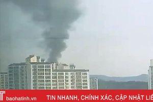 Nổ lớn tại nhà máy sản xuất đạn dược Hàn Quốc, 3 người chết