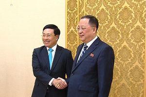 Việt Nam sẵn sàng chia sẻ kinh nghiệm phát triển KT - XH cho Triều Tiên