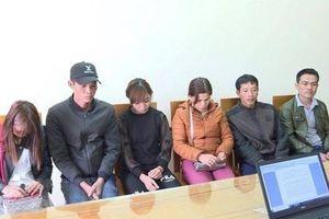 Bắt giữ 6 đối tượng vượt biên trái phép sang Trung Quốc