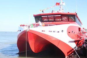 Bắt đầu khai thác tuyến tàu cao tốc Vũng Tàu - Côn Đảo