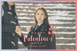 'Chạm vào tim em': Phát hành bộ ảnh Valentine ngọt ngào của Yoon In Na và Lee Dong Wook