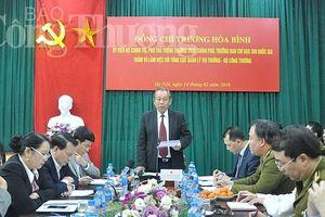 Phó Thủ tướng Trương Hòa Bình làm việc với Tổng cục Quản lý thị trường