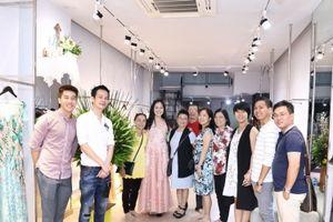 Hoa hậu Diệu Hoa, Lý Hương, Lệ Quyên 'khai xuân' với váy Hoàng Hải