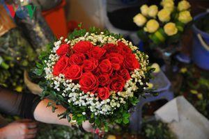 Sôi động thị trường quà tặng ngày Valentine