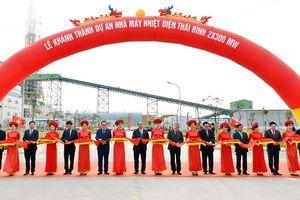 Thủ tướng dự lễ khánh thành dự án Nhà máy Nhiệt điện Thái Bình 1
