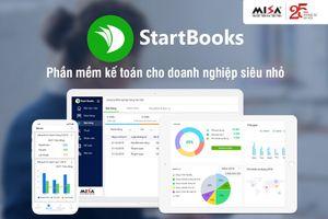 Ra mắt phần mềm kế toán đầu tiên cho doanh nghiệp siêu nhỏ MISA StartBooks.vn