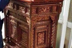Hải Phòng: Trộm cắp cổ vật tại Di tích lịch sử Quốc gia