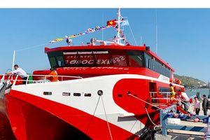 Đưa tàu cao tốc hai thân lớn nhất Việt Nam vào hoạt động