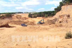 Tỉnh Kon Tum yêu cầu xử lý khai thác đất sét trái phép
