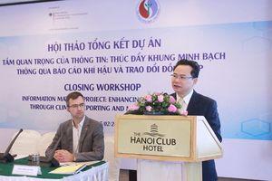 Thúc đẩy khung minh bạch trong báo cáo khí hậu của Việt Nam