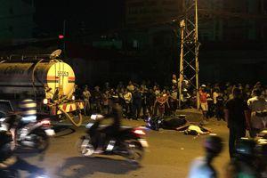 TP.HCM: Người phụ nữ chết thảm dưới bánh xe bồn