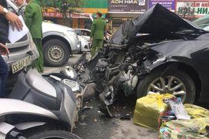 Danh tính tài xế Mazda 3 gây tai nạn liên hoàn trên đường Trường Chinh