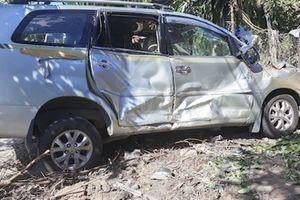 27 hành khách thoát chết do ôtô khách mất phanh