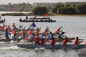 Nét đẹp Lễ hội đua thuyền truyền thống trên sông Cu Đê