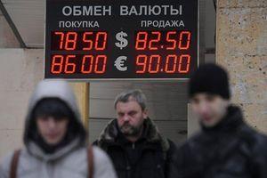 Thị trường Nga run run đón đòn trừng phạt Mỹ