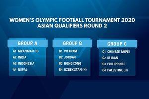 Tuyển nữ Việt Nam nắm lợi thế ở vòng loại thứ 2 Olympic 2020 khu vực châu Á