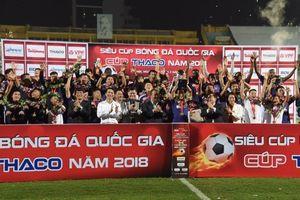 Hoàng Vũ Samson tỏa sáng, Hà Nội đoạt Siêu Cúp Quốc gia 2018
