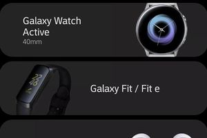Samsung tự làm lộ toàn bộ thiết bị đeo chưa ra mắt
