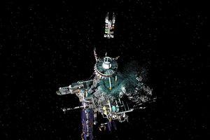 Giấc mơ xây trạm không gian trong tiểu hành tinh