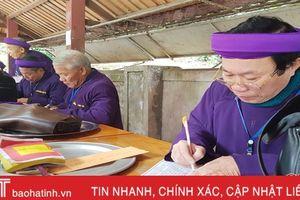Xây dựng nét văn hóa tâm linh ở ngôi đền nổi tiếng nhất Hà Tĩnh