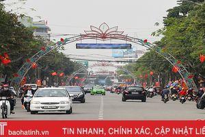 Thành phố Hà Tĩnh lên đô thị loại 2 - cán đích và khởi đầu!
