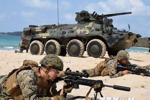 Hình ảnh Mỹ, Thái Lan và Hàn Quốc tập trận đổ bộ Hổ mang vàng