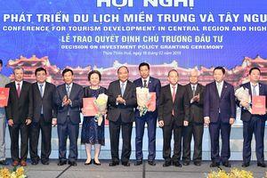 Thủ tướng Nguyễn Xuân Phúc chủ trì 'Hội nghị phát triển du lịch miền Trung - Tây Nguyên'