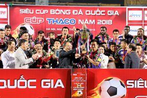 Hoàng Vũ Samson rực sáng, Hà Nội FC giành Siêu cúp Quốc gia 2018