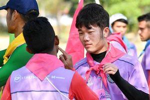 Xuân Trường đá chính trận ra mắt đội bóng Thái Lan