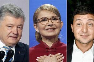 Diễn viên hài dẫn đầu khảo sát, thắng cử Tổng thống Ukraine