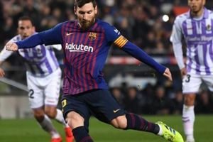 Xé lưới Valladolid tại La Liga, Messi lại lập thêm kỷ lục 'siêu khủng'