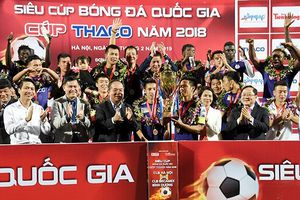 CLB Hà Nội đoạt Siêu Cúp quốc gia 2018