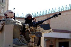 Binh sỹ Ai Cập đọ súng với các phần tử khủng bố tại khu vực Bắc Sinai