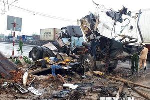 Thanh Hóa: Tai nạn giao thông liên hoàn trên quốc lộ 1A