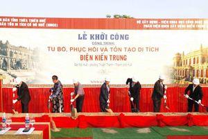 Hơn 120 tỷ đồng tu bổ, tôn tạo di tích điện Kiến Trung