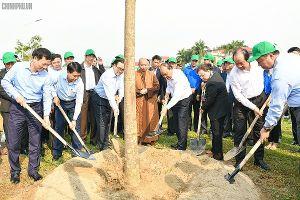 Thủ tướng Nguyễn Xuân Phúc: Mỗi gia đình trồng một cây xanh để Thủ đô hoa nở bốn mùa