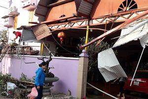 Tuyên Quang hơn 337 nhà bị tốc mái do mưa to kèm gió lốc