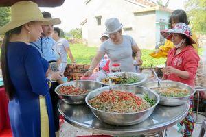 Độc đáo ẩm thực lễ hội xuân đất Quảng