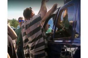 Tù nhân dùng chiêu trộm cắp để cứu trẻ bị nhốt trong xe hơi